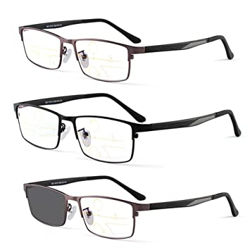 Gafas de Lectura de Enfoque múltiple Progresivo con Zoom ...
