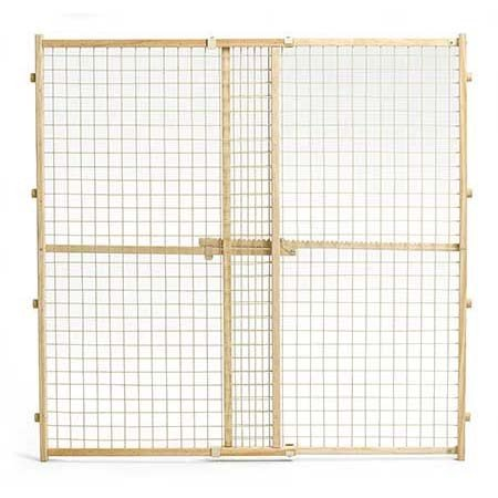 MidWest Wire Mesh Pet Gate, 29 Inches to 50 Inches wide by 4