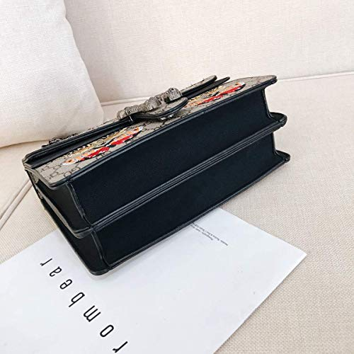 Capacità Tracolla Light Farfalla Cena Nero Ragazze Portafoglio Blue 24 Mini Borsa nero 8 2019 Catena 17 Modello Cm Moda Frizione Le Piccolo Per Grande Adatto qgn5X0