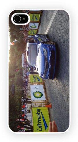Subaru Impreza WRC 2008, iPhone 4 4S, Etui de téléphone mobile - encre brillant impression
