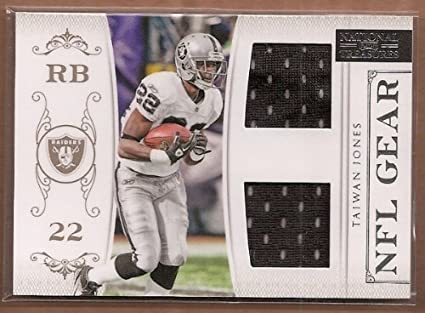 cheap for discount 579bb 4ba58 2011 Playoff National Treasures NFL Gear Combos #32 Taiwan ...