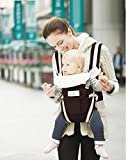 Baby Carrier by Brighter Elements - BEST for Infant, Toddler, & Child - 4 carrying positions - Backpack, Front, Kangaroo, & Sling Positions - Lightweight & Ergonomic Carriers - For Moms & Dads - Flexible & 100% Cotton - Carry Safely with Confidence Now!
