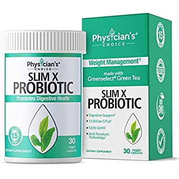Amazon.com: Force Factor ProbioSlim Probiotics + Weight