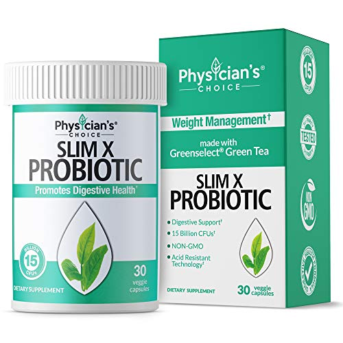 Probiotics for Women - Detox Cleanse & Weight Loss - Clinically Proven Greenselect- Organic Prebiotics, Digestive Enzymes, Apple Cider Vinegar & Green Tea Extract - Shelf Stable - 30 Capsules (Best Cleanse For Women)