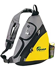 Pickleball Marketplace Urban Sport Sling Backpack - New/embroidered - Yellow