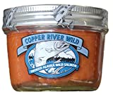 Copper River Seafoods Smoked Alaska Sockeye Salmon - Two - 6.5 oz. Jars - Sustainable - Made in USA