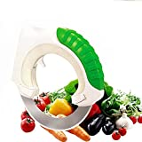 Circular Stainless Steel Knife, HMMS Rolling Creative Kitchen Knives Designed