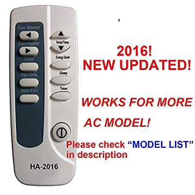 HA-2016 Replaces Frigidaire Air Conditioner Remote Control 5304447875 5304447885 5304447782 5304436595 works for FAA067P7A2 FAA067P7A3 FAA067P7A4 FAA067P7A5 FAA067P7A6 FAA084P7A FAA084P7A1 FAA084P7A2