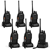 Ansoko Long Range Walkie Talkie FRS/GMRS 16-Channel Two Way Radio (Pack of 6)