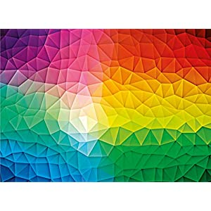 Clementoni 39521 High Quality Collection Puzzle Gradient 1000 Pezzi Made In Italy Puzzle Adulto