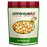 Sincerely Nuts Macadamia Nuts Whole Roasted & Salted - One Lb. Bag – Crisp, Delectably Savory & Perfectly Healthy - Shelled & Freshly Sealed - Kosher!