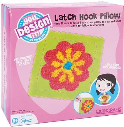 Amazon.com: Colorbok You diseño It almohada de ganchillo Kit ...