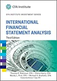 img - for International Financial Statement Analysis (CFA Institute Investment Series) book / textbook / text book