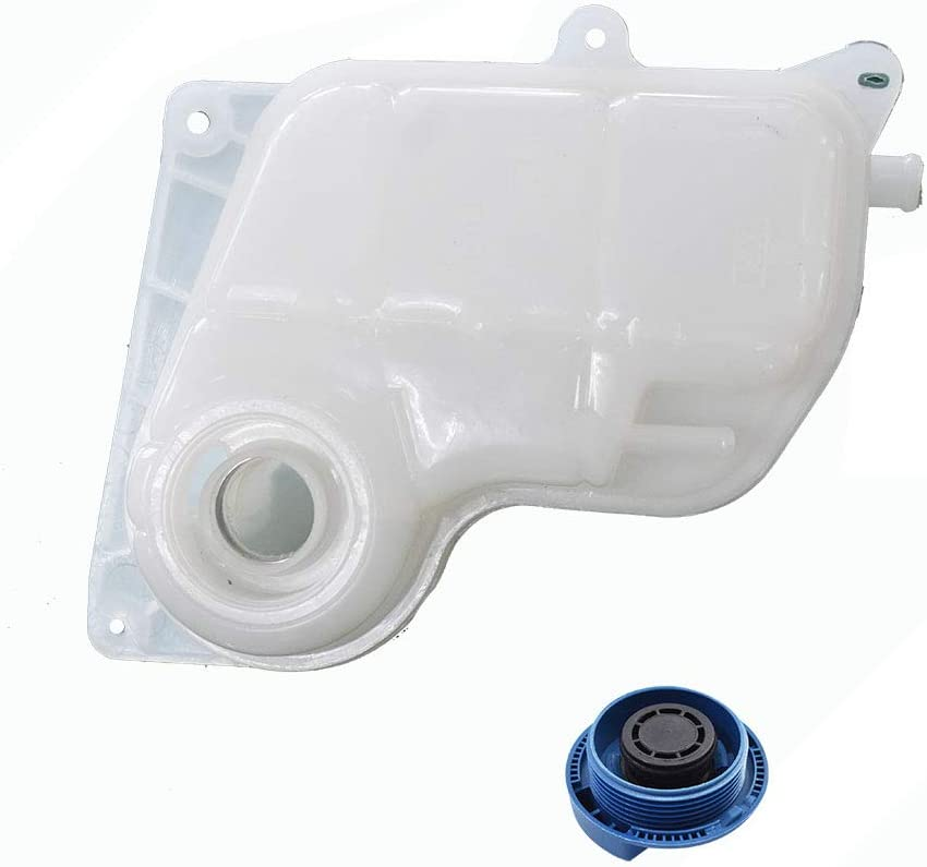 For A4 A6 Passat Coolant Recovery Expansion Overflow Tank Reservoir w//Cap NEW