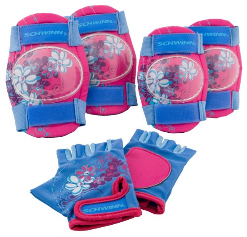 Schwinn Girls Knee Elbow Gloves