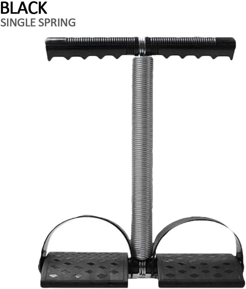 Abnehmen f/ür zu Hause//Fitnessstudio Federspannungs-Fusspedal Bauch-Bein-Trainer Bauch-Trimmer Bodybuilding Haihuic Elastisches Sit-Up-Zugseil Stretching