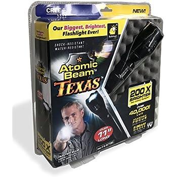 Amazon Com Atomic Beam Texas Tactical Led Flashlight By
