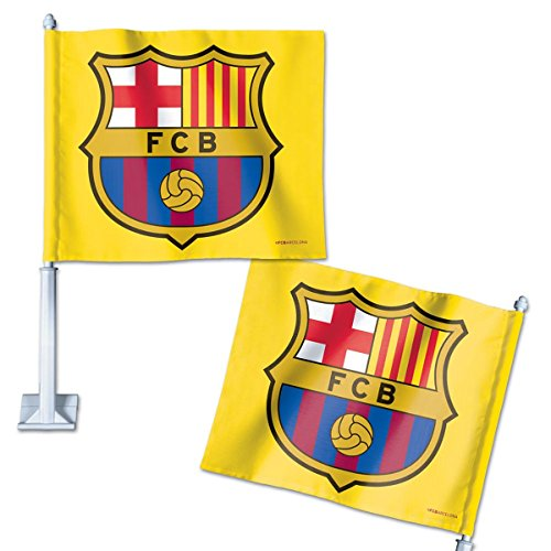WinCraft Int'l Soccer Barcelona Car Flag ()