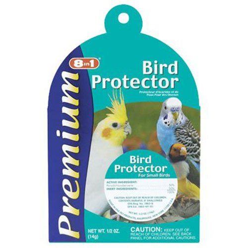 United Pet Group C1311 Bird Protector Pest Control Supply, (Lice Bird)