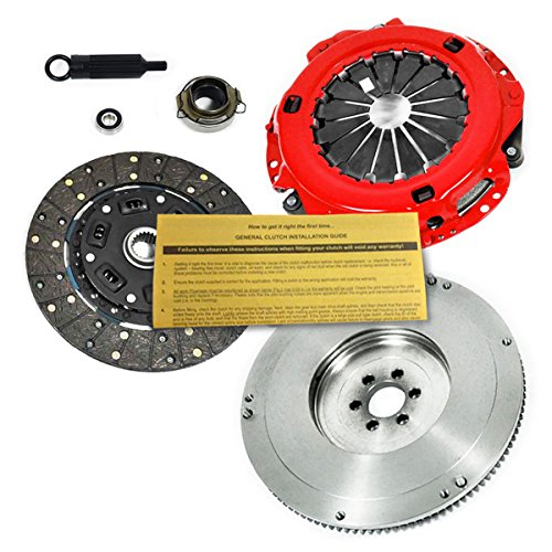 Toyota 1988 4wd Pickup (EFT STAGE 1 CLUTCH KIT+FLYWHEEL 87-88 4RUNNER PICKUP 2.4L TURBO / 93-95 4WD ONLY)