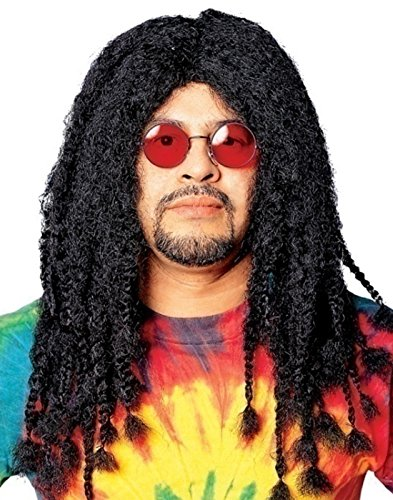 Deluxe Rasta Wig in Black