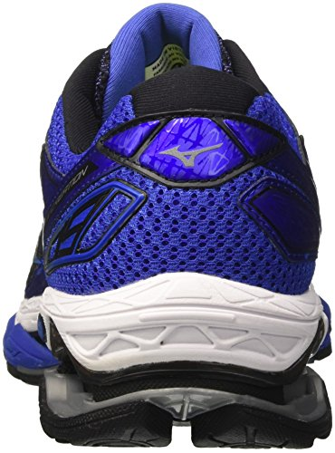 de Creation Multicolore Blackblackdazzlingblue Bleu Homme Mizuno Chaussures Wave 19 Running w5WxxvqI81