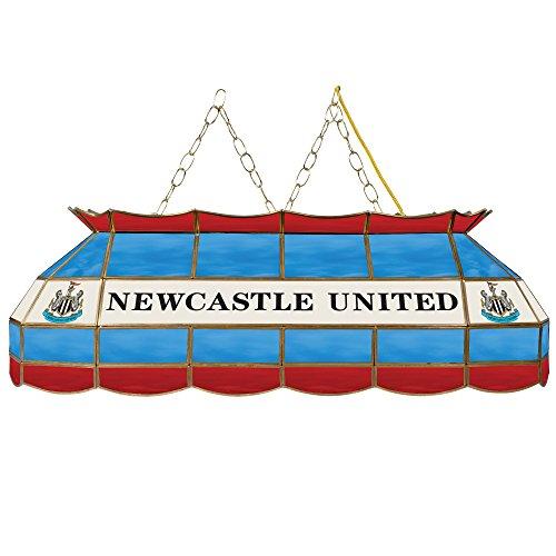 - Trademark Gameroom Premier League Newcastle United Handmade Tiffany Style Lamp - 40 Inch