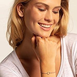 Thomas Sabo Women Silver Charm Bracelet – LS068-173-19-L20v