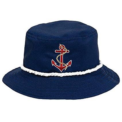 0411757000e42 Amazon.com  Amscan Anchors Aweigh Party Bucket Hat