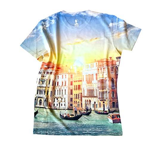 Arte Venezia Giallo Gioconda Grande shirt Canal Over T PBPxqFr8