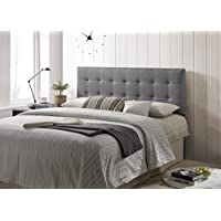 Poly and Bark Guilia Square-Stitched Headboard Queen Size