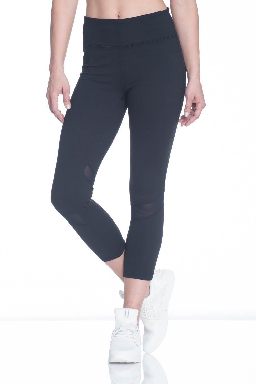 f3e3887f0a9af Galleon - Gaiam Women's Capri Yoga Pants - Performance Spandex Compression  Legging - Black Om Tap, X-Small