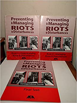 Book Preventing and Managing Riots and Disturbances