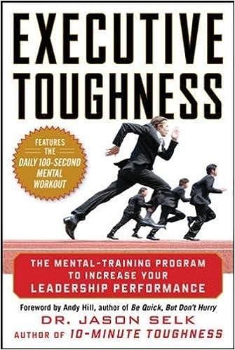 Executive Toughness - Dr Jason Selk