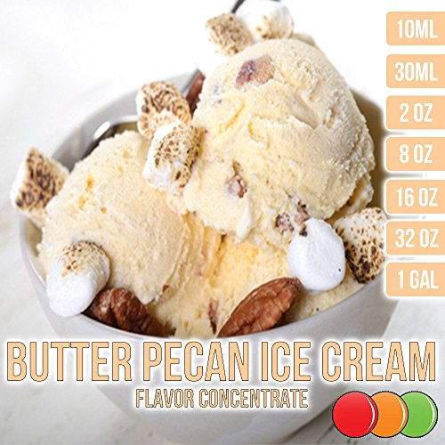 OOOFlavors Butter Pecan Ice Cream Flavored Liquid Concentrate Unsweetened (10 ()
