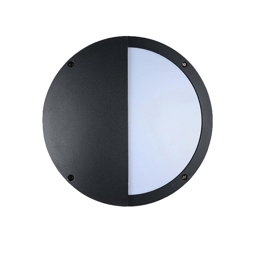 Illuminazione esterna Plafoniera per Esterni a LED Plafoniera per Esterni a corridoio rossoondo. Impermeabile (Dimensioni   220mm)