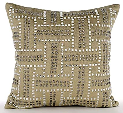 Peachy Amazon Com Luxury Sage Green Decorative Pillow Cover Pabps2019 Chair Design Images Pabps2019Com