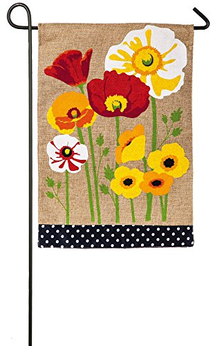 Evergreen Enterprises 14B3581 Poppies Garden - Poppy Flag