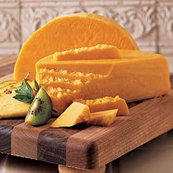 3 Lb  Longhorn Colby Cheese - Wisconsin Cheeseman