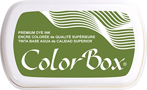 ColorBox Premium Dye Inkpad, Olive