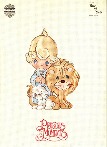 Precious Moments: Peace On Earth, Book PM4 (Christmas Cross Stitch patterns)