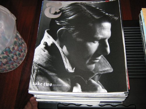 The New York Times Magazine (TOM CRUISE , Style Magazine...Take Two , The Reinvention Issue, Holiday 2008) (Tom Cruise Style)