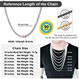 Small Cuban Chain Boys Necklace 20inch 4.8mm