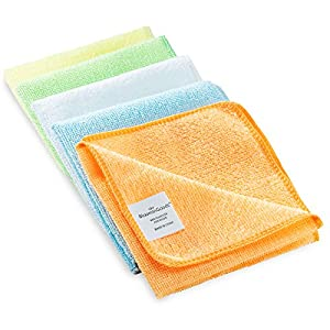 Microfiber Cleaning Towel Set By BloominGoods - Multipurpose & Reusable - Perfect For Your Home, Office, Car & All Other Cleaning Needs