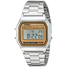 Casio Men's Casual Classic Bracelet Watch Grey A158WEA-9CF