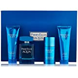 Perry Ellis Aqua Perry Ellis Men Gift Set (Eau de Toilette, After Shave Gel, Shower Gel, Deodorant)