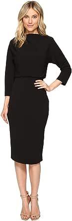 Badgley Mischka Women's 3/4 Sleeve Blouson Dress