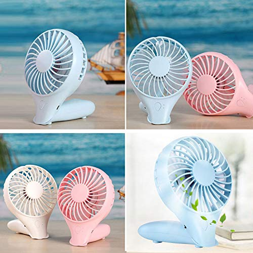 SaveStore 1200MA Hand Held Air Conditioning Foldable Air Ventilation Fans for Outdoor Home Portable Air Cooler Rechargeable Mini USB Fan by SaveStore (Image #5)
