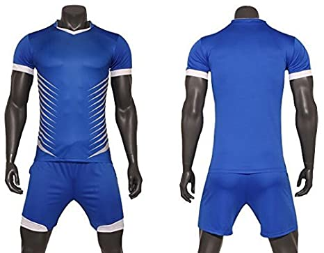Amazon.com   FidgetFidget Suits Plain Blank Running Soccer Jersey ... 847cc7c49