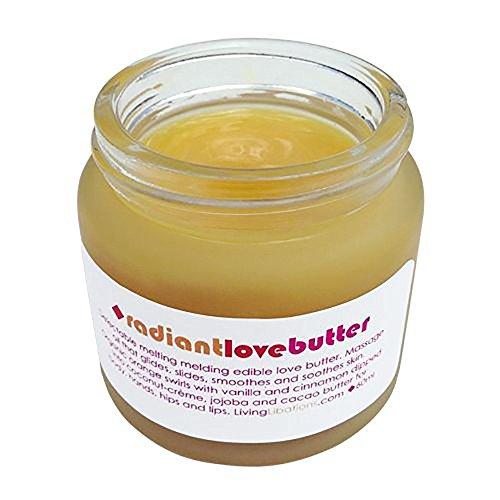 Living Libations - Organic / Wildcrafted Radiant Love Butter Massage Cream (2 oz / 60 ml)